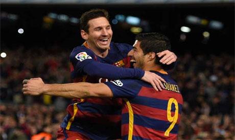 Messi Luis Suarez