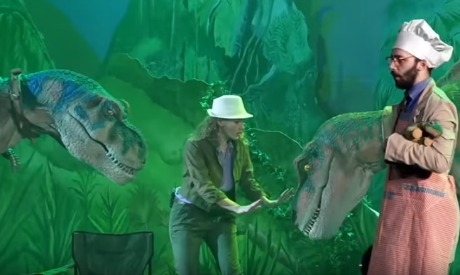 Jurassic Experience Live Show promo