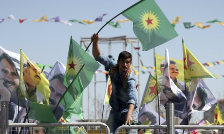 PKK demonestration