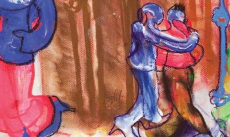 Fargahli Abdel Hafiz painting