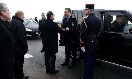 Hollande, Cameron