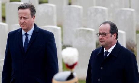 Cameron, Hollande