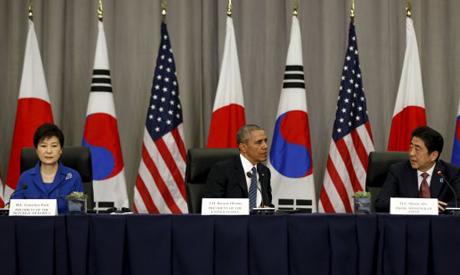 US, Japan, S. Korea