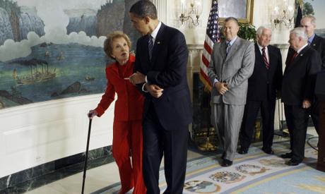 Obama, Reagan