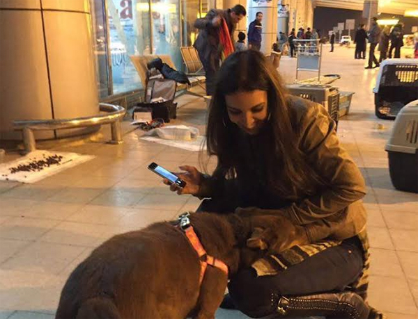Rescuer Laila Fayek