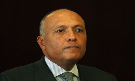 Minister Sameh Shoukry
