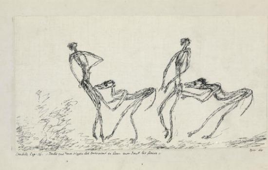 Couple mauvais genre, 1905.