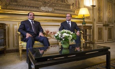 Sisi- Hollande