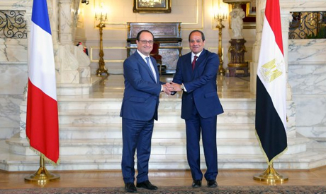Sisi and Hollande