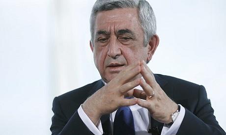Armenian President Armen Sarkisian AFP