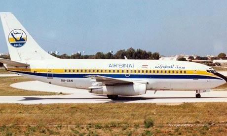 Air Sinai plane