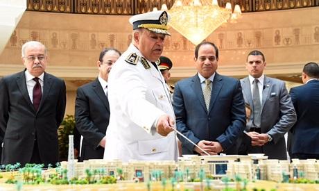 Sisi in Police HQ