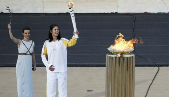dc4b18ed55fa Brazil receives Olympic flame for Rio Games - News - Rio - Ahram Online