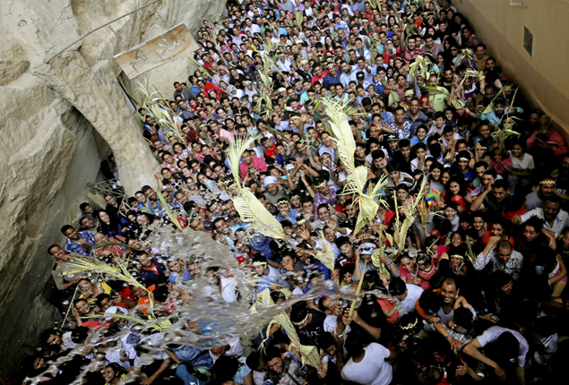 PHOTO GALLERY: Christians in Egypt celebrate Palm Sunday