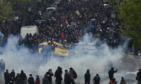 French Labour Protests