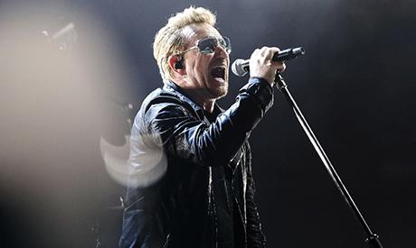 U2's Bono salutes Turkey for its hosting of Syrian refugees