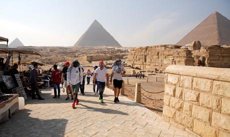 Giza pyramids(Reuters)