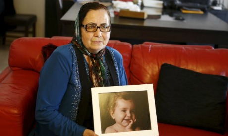 The grandmother of the kidnapped Elamine family children