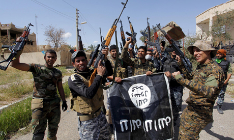 Militants of Islamic State group