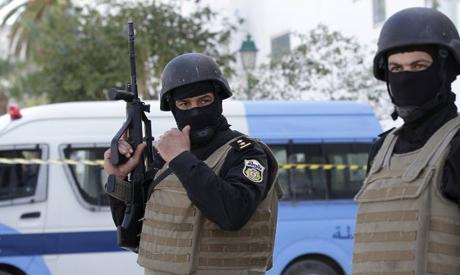 Tunisian policemen