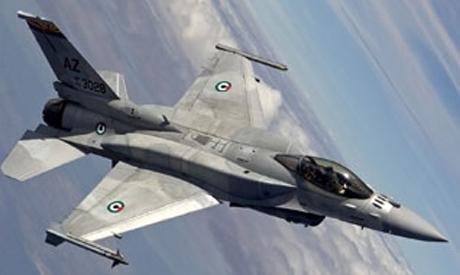 A United Arab Emirates F-16