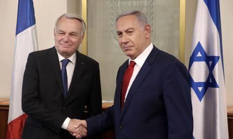 Netanyahu, Ayrault