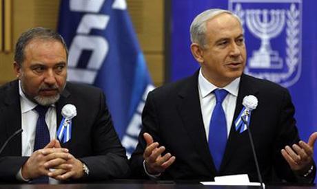 Lieberman ,Netanyahu