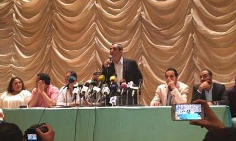 Egypt journalists (Lina wardany)