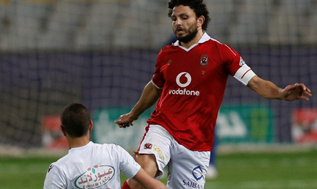 Ahly skipper Hossam Ghaly (Reuters)