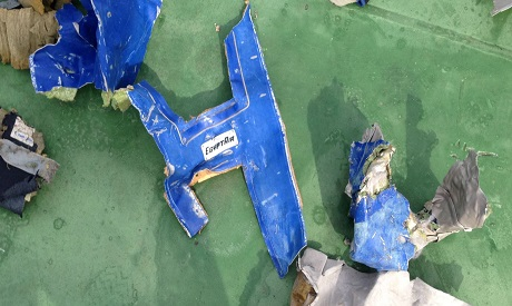 Egypt Air MS 804 debris