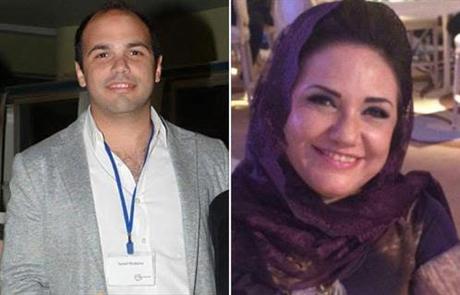 Youmna Hamdy Shabana and son Ismail
