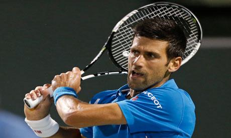 Novak Djokovic of Serbia(Reuters)