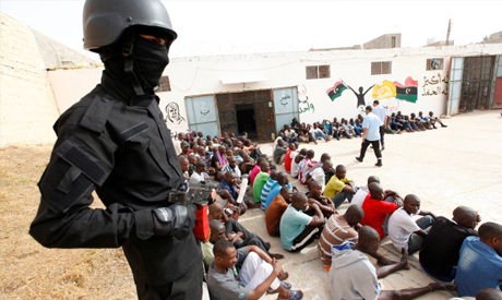 Anti-Illegal Immigration force in Libya