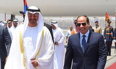Sisi and bin Zayed