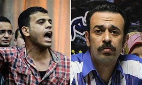 Egyptian journalists El-Sakka and Badr