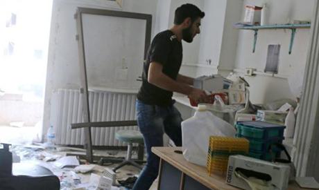 A Syrian hospital