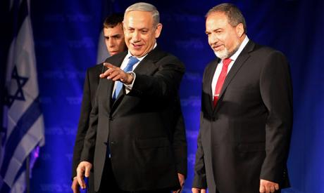 Netanyahu  & Lieberman