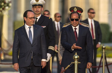 Sisi -- Hollande