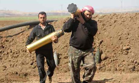 Rebels from Jaish al-Fatah