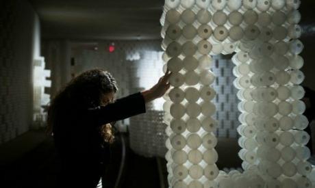 Underground Recycled Balls Exhibit