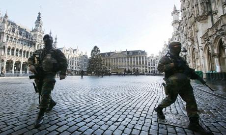 Belgium soldiers