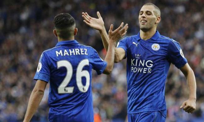 Mahrez and Slimani