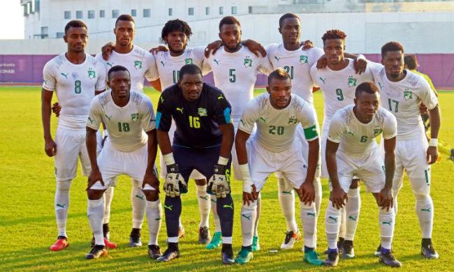 The Ivory Coast team