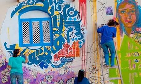 art in street