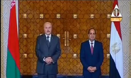El-Sisi and Lukashenko