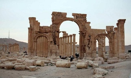 Isis destroys Tetrapylon monument in Palmyra