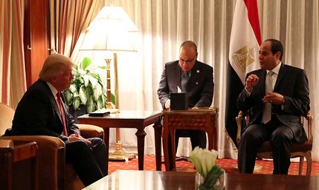 Trump and El-Sisi