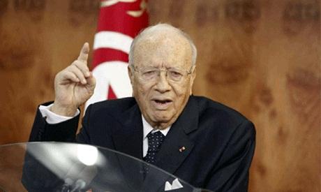 Tunisian president Beji Essebsi