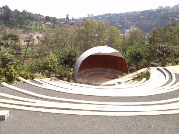 The Amphitheater, which is attached to Kigali Genocide Memorial (Photo: Bassem Abo Alabass)