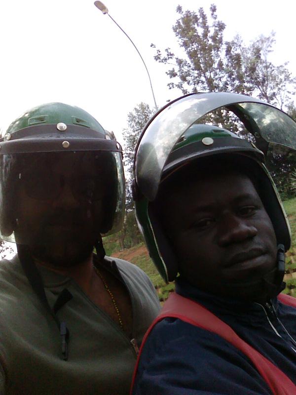 A motor Ride in Kigali (Photo: Bassem Abo Alabass)